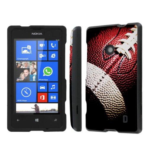 Price comparison product image NakedShield Nokia Lumia 635 (Football) Total Hard Armor Protection LifeStyle Phone Case