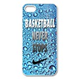 Print Creative Theme Basketball Never Stops Cool Pictures High Quality Protective Durable Back Case Laser Cover Shell for iPhone 5/5S-2 offers