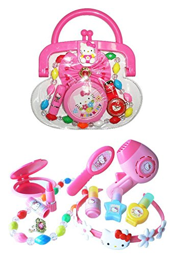 TWO Hello Kitty Sets - Purse and Beauty Salon - Keep Pretty with Kitty!
