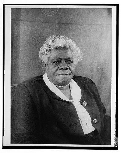 Photo: Portrait of Mary McLeod Bethune 1 . Size: 8x10 (approximately)