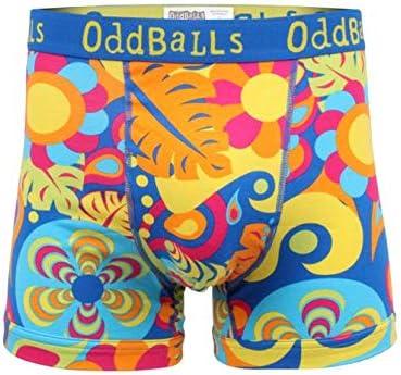 OddBalls Mens Boxer Shorts Hippy Jungle
