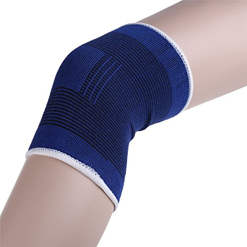 2pcs Knee Brace Support Leg Arthritis Injury Gym Sleeve Elastic Bandage Pad Knees Protector muscle joints One (Divine Lace Dress)