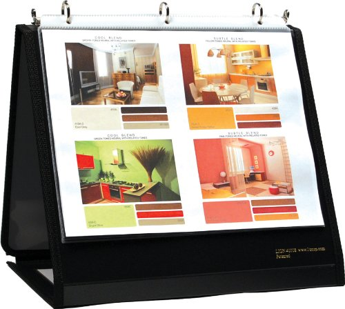 Lion Insta-Cover Ring Binder Easel, 3/4 Inches Ring, 1 Binder Easel (40008) ()