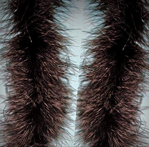 1 Packet of 2 Pcs Marabou Crafting Feather