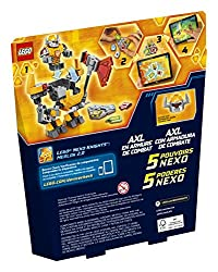 LEGO Nexo Knights Battle Suit Axl 70365 Building Kit (88 Piece)
