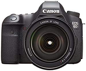 Canon EOS 6D with EF 24-105mm F4L IS USM Lens - International Version (No Warranty)