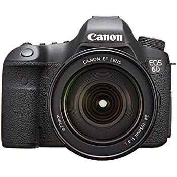 Amazon.com : Canon EOS 6D with EF 24-105mm F4L IS USM Lens