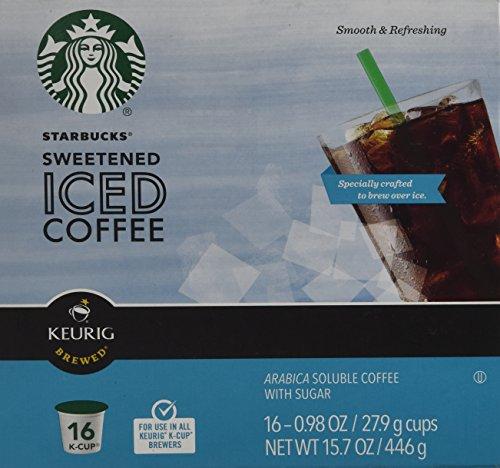 Keurig Starbucks Sweetened Coffee K cup