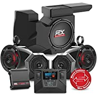 2014 to 2017 Polaris RZR XP 1000 Four Speaker, Dual Amplifier, and Single Subwoofer Audio System By MTX Audio RZRSYSTEM3