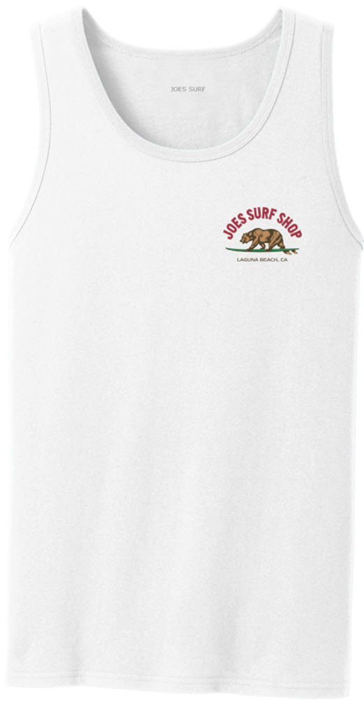 Joe's USA SHIRT メンズ B073Z6M21H Regular Large (41-43)|White/C 5.4-ounce, 100% Cotton Tank Top White/C 5.4-ounce, 100% Cotton Tank Top Regular Large (41-43)