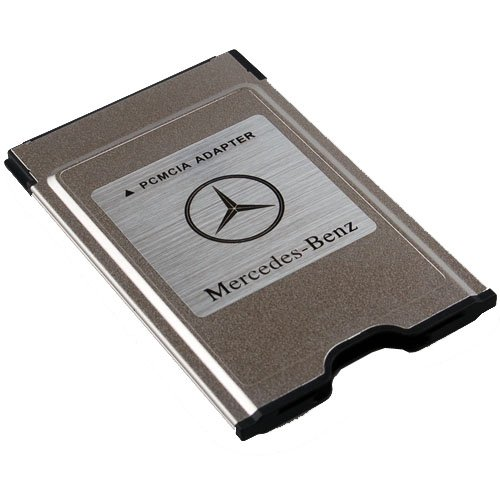 New original mercedes benz pcmcia to sd pc card adapter for Mercedes benz accessories amazon