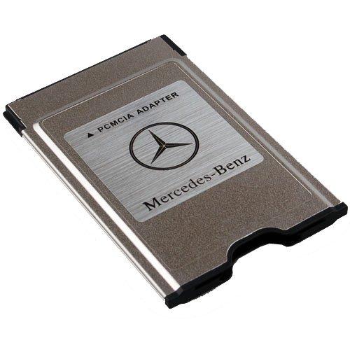 New original mercedes benz pcmcia to sd pc card adapter for Mercedes benz card