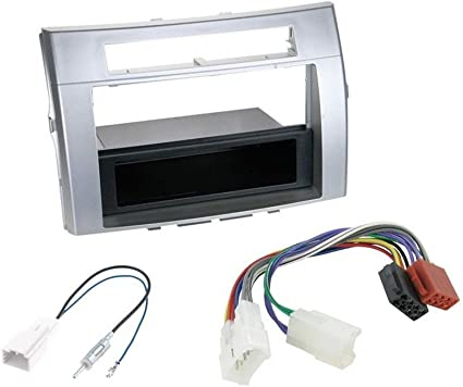 VW Jetta 2005 onwards Double Din Facia fitting kit ISO wiring Aerial for