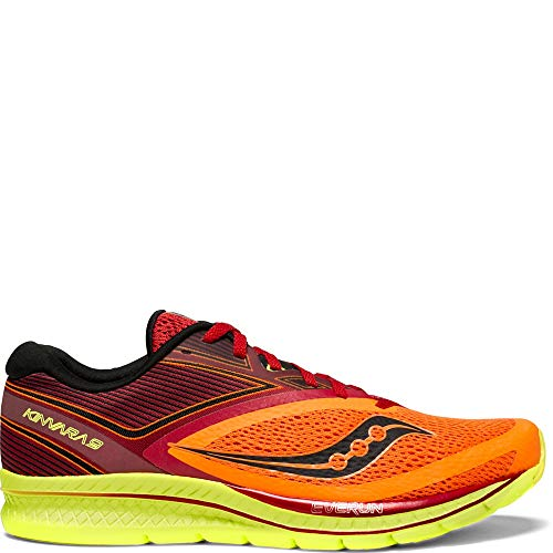 Saucony Men's Kinvara 9 Running Shoe, Orange/red, 9 Medium US