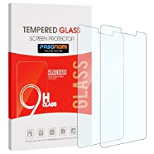 [2 Pack]Huawei Mate 9 Screen Protector, Pasonomi [9H Hardness] [Crystal Clear] [Scratch-Resistant] Premium Tempered Glass Screen Protector Film for Huawei Mate 9 5.9 inch (Clear)
