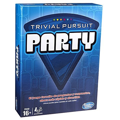 Hasbro Juegos familia Trivial Pursuit Party A