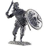 Valkyrie, IX-X centuries. Metal sculpture. Collection 54mm (scale 1/32) miniature figurine. Tin toy soldiers