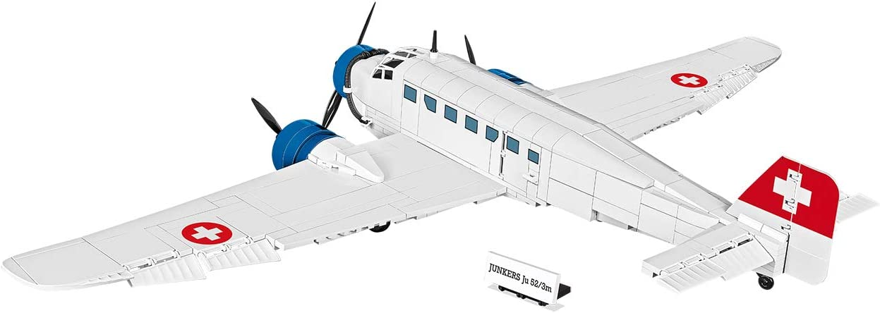 JUNKERS JU 52//3M 5711 COBI HISTORICAL COLLECTION NEUF