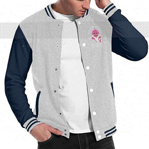 Sister Shark Doo Doo Doo Striking Baseball Uniform Jacket Sport Coat Gray