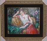 ''Girl Reading'' by Sergey Ignatenko