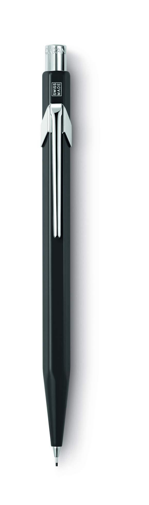 Caran Dache 844 Metal Portaminas 0.7mm - Negro (844.009)
