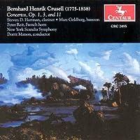 Crusell:Clarinet Concerto/etc.