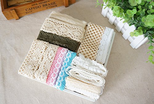 RayLineDo 20 Meters Assorted Vintage Style Cotton