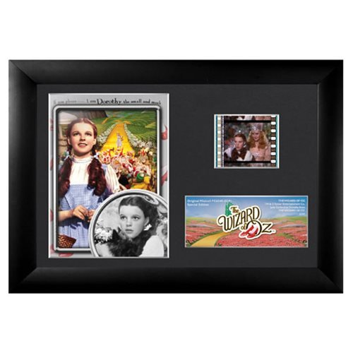 (Wizard of Oz Dorothy (S19) Framed and Matted Film Cell Minicell USFC6340 )