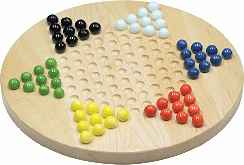 - Maple Chinese Checkers - Made in USA