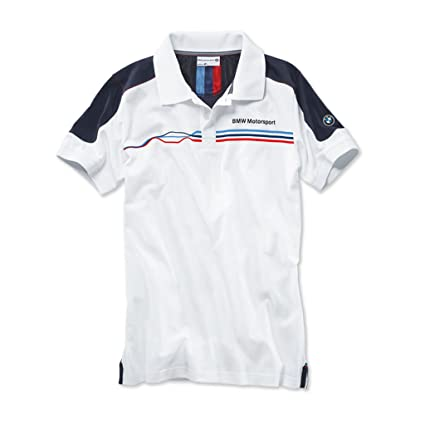 BMW Motorsport - Polo casual para hombre de manga corta, algodón ...