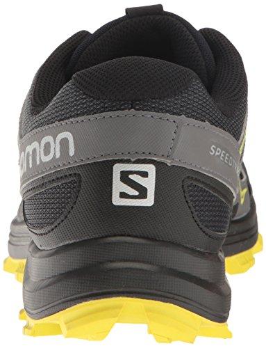 Spring 000 Salomon magnet Trail De Speedtrak Noir Homme black Chaussures sulphur qwZAx4qPS