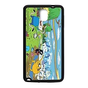 SANYISAN Cartoon Happy Land Black Samsung Galaxy Note3 case