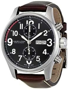 Hamilton Men's H71716533 Khaki Black Dial Watch