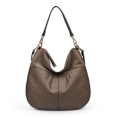 9d10c3d2738b Amazon.com: Moda Luxe Women's Stylish Brie Hobo, Handbag, Assorted ...