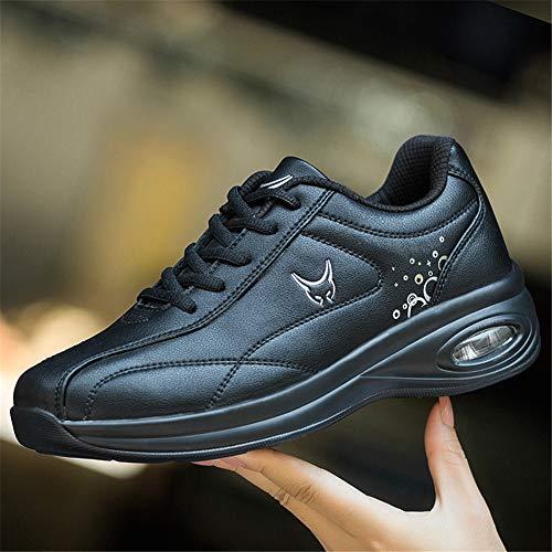 Outdoor Nero Multisport Leather Shoes Sportive Fitness Da Scarpe Sneakers Donna Running a39 Basse Ginnastica zgaBWwvq