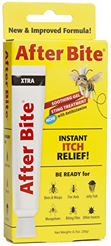 After Bite Xtra Insect Bite Treatment Gel, 0.7 Ounces (Pack of 4)