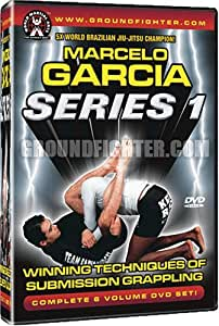 Marcelo Garcia Series 1,Winning Techniques of Submission Grappling Instructional DVDs