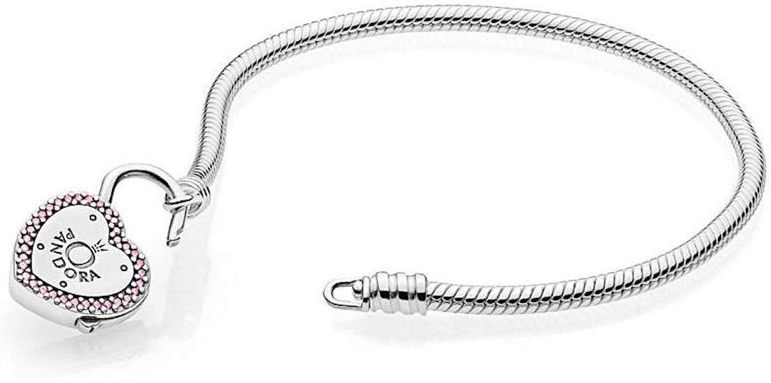 Bracelet Pandora Women's Silver Charm Bracelet–596586fpc–19[parallel import goods]