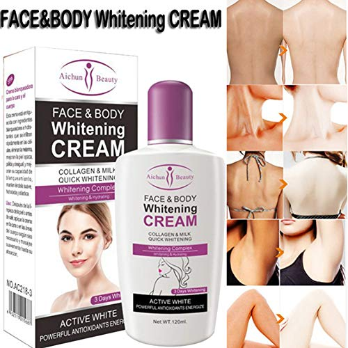 FidgetGear Body Cream Moisturizing Cream Milk Body Lotion Body Face Whitening Cream Body Skin Brightening Cre