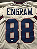 Autographed/Signed Evan Engram New York Giants Color Rush Football Jersey JSA COA