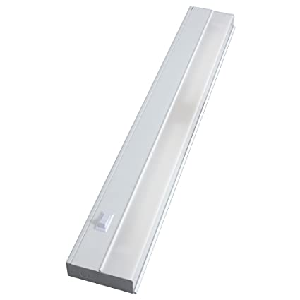 Amazon.com: GE 16687 Premium Fluorescent Light Fixture, Direct Wire ...