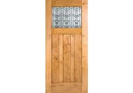 Eto Doors Craftsman Exterior Knotty Alder Craftsman Style