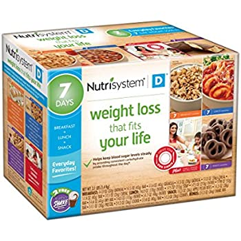 Amazon Com Nutrisystem 174 Diabetic 7 Day Weight Loss Kit