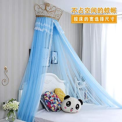 Image of Home and Kitchen HOMEJYMADE Princess Bed Canopy,Fringe Mosquito net Mosquito net Bed Canopy for Girls Bedding Decor-O 59inch
