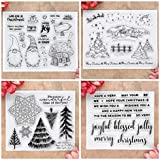 Kwan Crafts 4 Sheets Different Style Christmas...