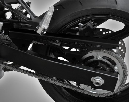 Cubrecadenas Suzuki GS 500/ E/ F 89-08 black logo: Amazon.es: Coche y moto