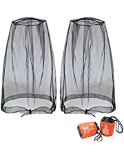 Benvo Head Net Mesh, Protective Cover Mask Face from Insect Bug Bee Mosquito Gnats for Any Outdoor Lover- with Free Carry Bags
