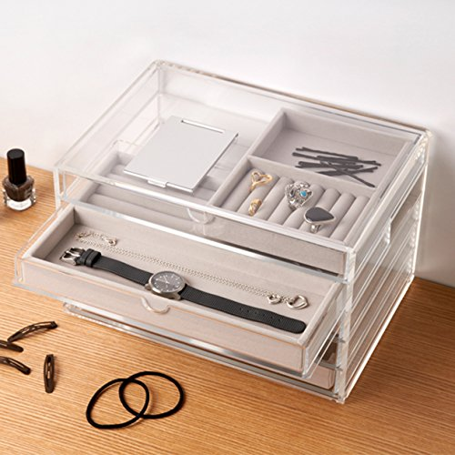 Unni Premium Quality Large Jewelry Amp Cosmetic Storage