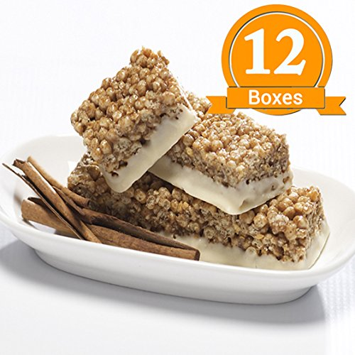 ProtiWise - Cinnamon Crunch High Protein Diet Bars (12 Boxes)