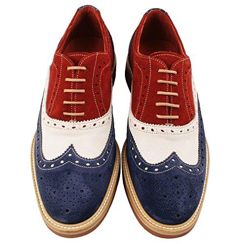 Oliver exclusivo Paris Richelieus, zapatos de hombre para hombre Blanco - blanco